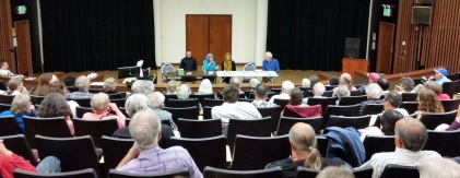 """Panel discussion during """"Toward a More Perfect Union"""" presentation"""